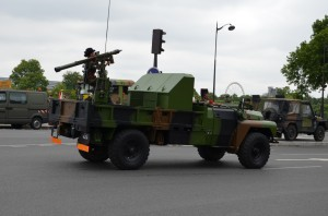 You know that a country has a long history with (in) Africa when truck-mounted SAMs are part of the standard retinue.