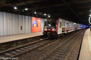 An RER C train. An establishing shot, if you will.