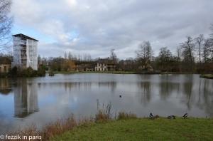 The queen's hamlet (her own personal pastoral disneyland).