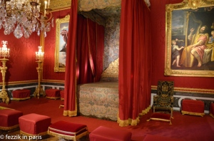 The king's bedroom.