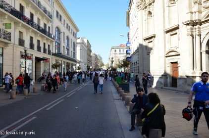 As the day wore on, the streets were shut to automobile traffic and inundated with people.