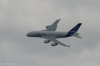 It's a big damn plane.