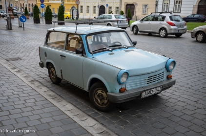 The first of many Trabants that we would see.
