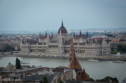 Budapest's parliament building.