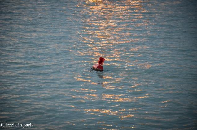 A buoy.