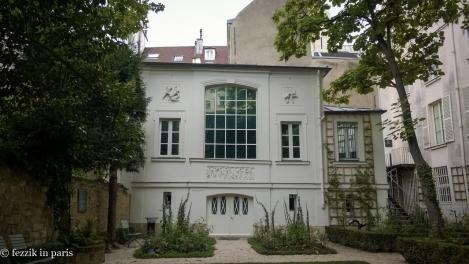 The garden from musée-eugène-delacroix.