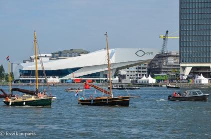 ...and pleasure boats...
