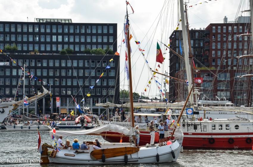 The range of sizes of Dutch flat-bottom-barge specimens was impressive.