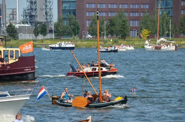 One of the smallest examples of the Dutch boats.