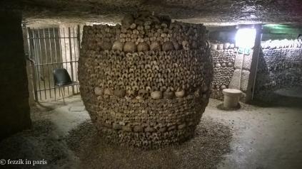 A bone barrel.