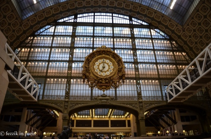 Orsay was originally a train station.