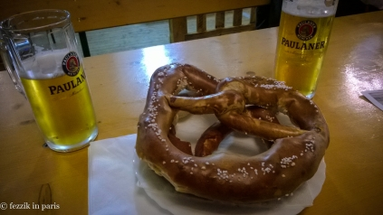 Brezels and biere.