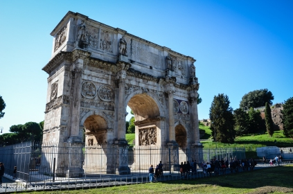 "The Arch of Constantine. (I ""remember"" this too)"
