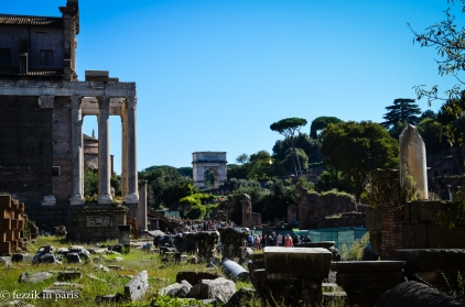 Roman Forum, alternate view.
