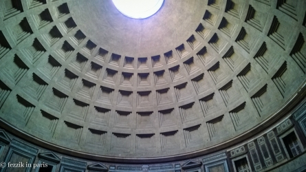 The pantheon's dome, still the largest unreinforced dome on the planet nearly 2000 years after its construction. The shit we build has a 20 year design life (though it'll last longer if properly retrofitted). I'm so jealous.