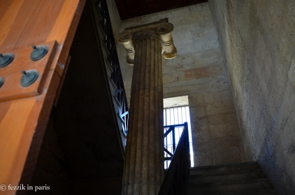 A column from the agora's museum.