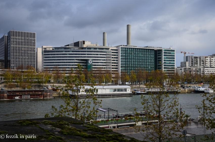 It's the RATP building.