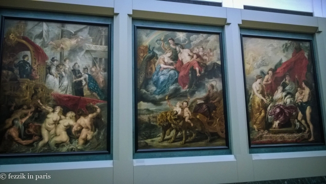 What's this? It's our fourth time here and we missed a gallery that's entirely large-format paintings?