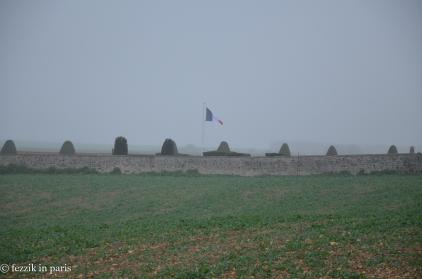 The cemetery.