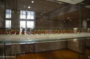 ...and a room full of tin soldiers.
