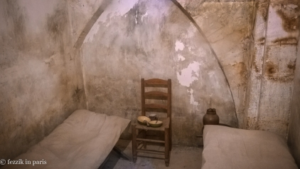 A mid-tier prison cell (upgrades available, for a price).