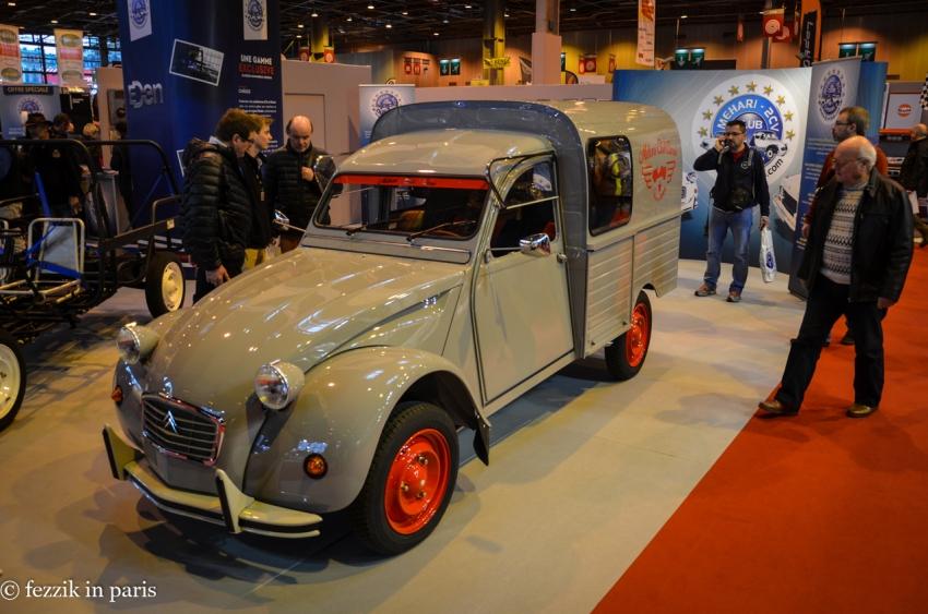 A 2CV in delivery van configuration.