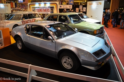 A vintage Renault.