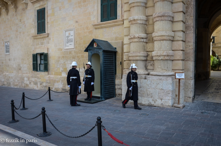The Maltese version of the changing of the guard.