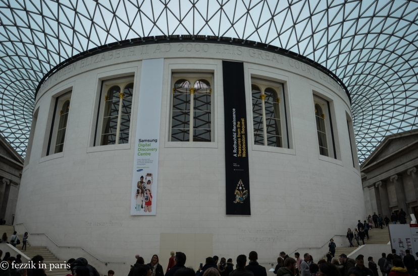 The British Museum's Great Court.