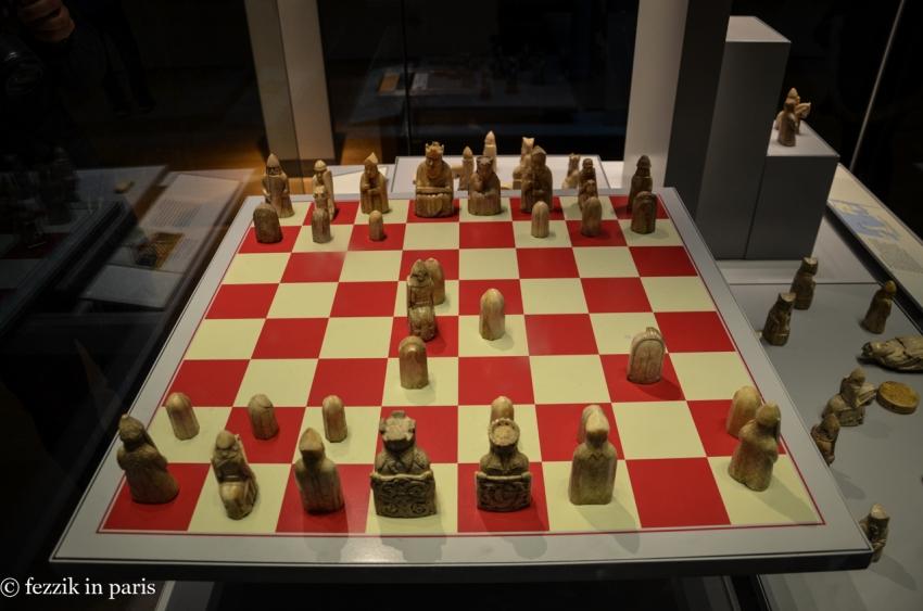 The 12th-century Lewis chessmen.
