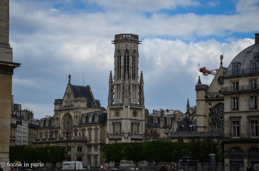It's the lovely église Saint-Germain-l'Auxerrois.