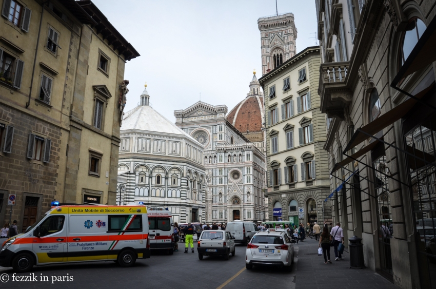 Our first look at Il Duomo.