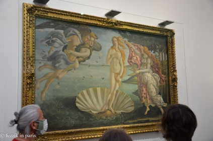 I haven't altered the color balance at all; The Birth of Venus is seriously underwhelming in person.