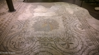 A Roman floor, as seen in the archaeological site under Il Duomo.