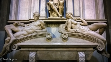 The award for the worst boobs goes to this sculpture, found in the Medici Chapel.