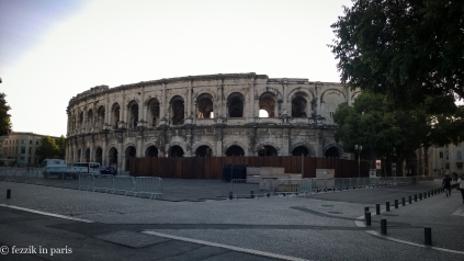 The very-well-preserved-for-being-nearly-2000-years-old arenes de Nîmes. (To be fair, it has apparently been dutifully overhauled and refurbished a number of times)