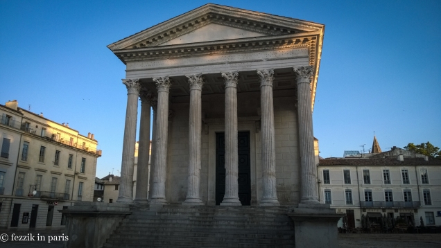 Among the other things left behind by the Romans: la maison carée.