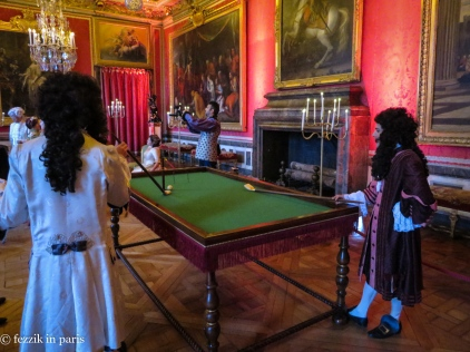 Billard in le salon de Mars.