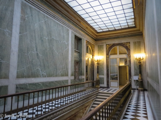 A corridor that one is not usually allowed to see, courtesy of our tour of the courtesan quarters.