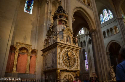 ...a 700-year-old clock.