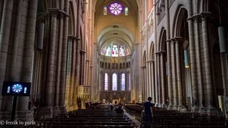 The inside of saint-Jean.
