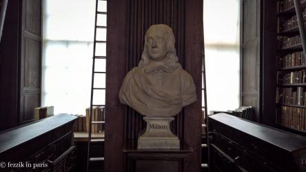 Milton, my man. (From Trinity's library)
