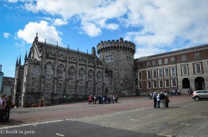 """The oldest part of Dublin """"castle."""""""