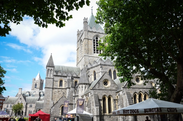 Christchurch Cathedral, which apparently hosts weekend food shindigs.