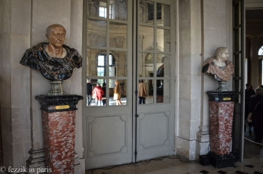 It's not a château without a few busts of random Roman emperors. (Not pictured: a bust of Nero)