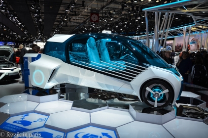 A fuel cell concept from Toyota.