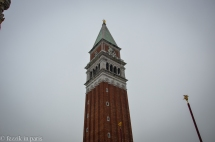 ...and a lion on the campanile...