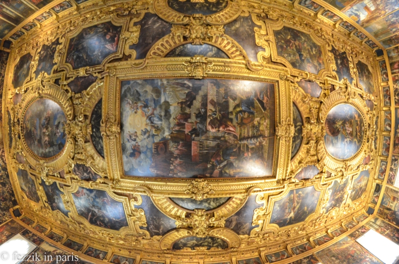 The doge's palace is no Versailles, but they have some decent-looking ceilings.