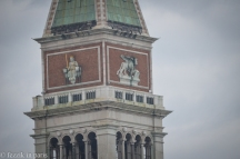 Detail of the campanile-camping lion.