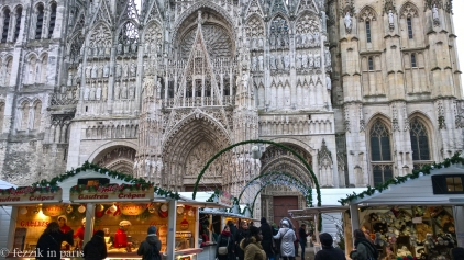 Rouen, and another marché.
